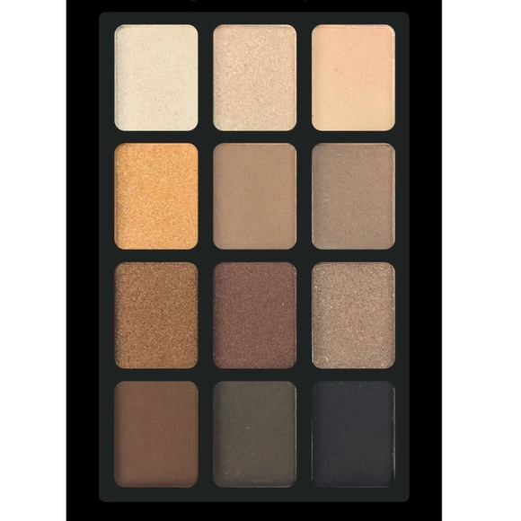 Other - 24 hr SALE 💋GLAM 12 shades eyeshadow